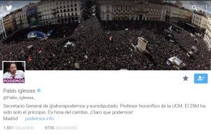 Pablo Iglesia Podemos